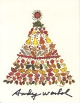 Lot #646: ANDY WARHOL - Christmas card: Tree of Treats - Original vintage color offset lithograph
