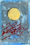 Lot #1540: ADOLPH GOTTLIEB [imputee] - Untitled #2 - Acrylic on board