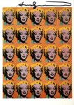 Lot #1886: ANDY WARHOL - Marilyn x 25 - Color offset lithograph