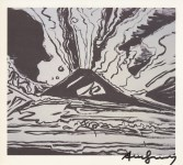 Lot #1531: ANDY WARHOL - Vesuvius #05 - Offset lithograph