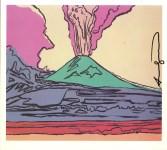 Lot #1530: ANDY WARHOL - Vesuvius #07 - Color offset lithograph