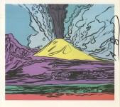 Lot #773: ANDY WARHOL - Vesuvius #12 - Color offset lithograph