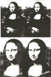 Lot #1096: ANDY WARHOL - Mona Lisa - Original letterpress print