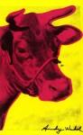 Lot #1342: ANDY WARHOL - Cow Wallpaper - Original color silkscreen