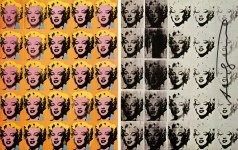 Lot #1118: ANDY WARHOL - Marilyn Diptych - Original color offset lithograph
