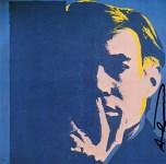 Lot #905: ANDY WARHOL - Self-Portrait - Original color offset lithograph