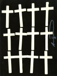 Lot #2114: ANDY WARHOL - Crosses #1 - Lithograph