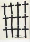Lot #1340: ANDY WARHOL - Crosses #3 - Lithograph