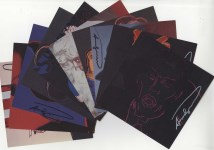 Lot #1078: ANDY WARHOL - Myths Suite - Color offset lithographs