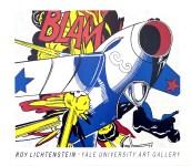 Lot #1421: ROY LICHTENSTEIN - Blam - Color silkscreen