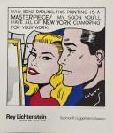 Lot #1113: ROY LICHTENSTEIN - Masterpiece - Color silkscreen