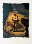 Lot #1569: NORMAN ROCKWELL - Tom Sawyer: Tom, Tom, We're Lost - Original color collotype