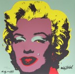 Lot #1890: ANDY WARHOL [d'apres] - Marilyn #05 - Color lithograph