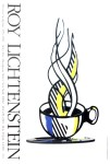 Lot #2109: ROY LICHTENSTEIN - Cup and Saucer II - Color offset lithograph