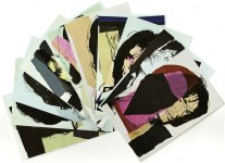 Lot #361: ANDY WARHOL - Mick Jagger Suite (first edition) - Color offset lithographs