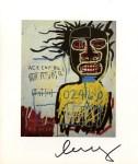Lot #901: JEAN-MICHEL BASQUIAT - Self-Portrait as a Heel - Color offset lithograph