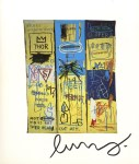 Lot #1382: JEAN-MICHEL BASQUIAT - Charles the First - Color offset lithograph