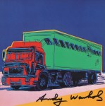 Lot #808: ANDY WARHOL - Truck #1 - Color offset lithograph