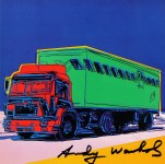 Lot #807: ANDY WARHOL - Truck #2 - Color offset lithograph