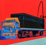 Lot #806: ANDY WARHOL - Truck #3 - Color offset lithograph