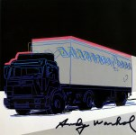 Lot #805: ANDY WARHOL - Truck #4 - Color offset lithograph