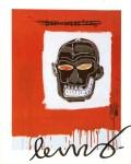 Lot #1430: JEAN-MICHEL BASQUIAT - Ben Webster - Color offset lithograph