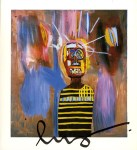 Lot #1262: JEAN-MICHEL BASQUIAT - Freddie - Color offset lithograph