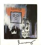 Lot #1147: JEAN-MICHEL BASQUIAT - Loans - Color offset lithograph