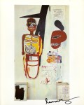 Lot #1574: JEAN-MICHEL BASQUIAT - Thin in the Old - Color offset lithograph