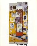 Lot #2072: JEAN-MICHEL BASQUIAT - Enob - Color offset lithograph
