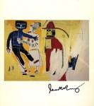 Lot #2179: JEAN-MICHEL BASQUIAT - Bombero - Color offset lithograph