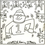 Lot #1792: KEITH HARING - One Artist - Lithograph