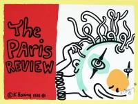 Lot #107: KEITH HARING - The Paris Review - Original color silkscreen