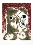 Lot #2158: JUAN JOSE TORRALBA - Cap de Dona - Original color etching with embossing