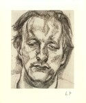 Lot #1233: LUCIAN FREUD - Head of a Man - Offset lithograph [following the original etching]
