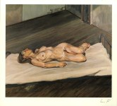 Lot #1846: LUCIAN FREUD - Naked Woman - Color offset lithograph