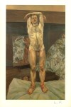 Lot #1556: LUCIAN FREUD - Two Men in the Studio - Color offset lithograph