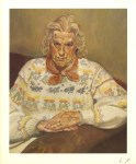 Lot #756: LUCIAN FREUD - Woman in a Butterfly Jersey - Color offset lithograph