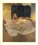 Lot #1471: LUCIAN FREUD - And the Bridegroom - Color offset lithograph