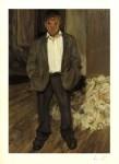 Lot #2171: LUCIAN FREUD - Bruce Bernard - Color offset lithograph