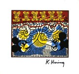 Lot #1554: KEITH HARING - Two Mickeys & Six Andys - Color offset lithograph