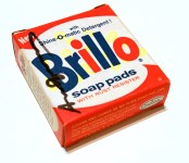 Lot #674: ANDY WARHOL - Brillo Box #1 - Color inks on stiff paperboard
