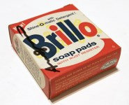 Lot #673: ANDY WARHOL - Brillo Box #2 - Color inks on stiff paperboard