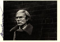 Lot #239: ANDY WARHOL - Portrait of Andy Warhol - Offset lithograph