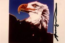 Lot #707: ANDY WARHOL - Bald Eagle - Original color analogue photograph