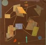 Lot #716: PAUL KLEE - Auftrieb - Original color lithograph