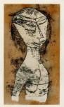 Lot #488: PAUL KLEE - Heilige vom Innern Licht - Original color lithograph & stencil/ pochoir