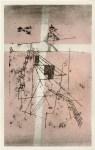 Lot #185: PAUL KLEE - Seiltaenzer - Original color lithograph & stencil/ pochoir