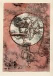 Lot #608: PAUL KLEE - Der Verliebte - Original color lithograph & stencil/ pochoir