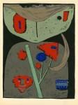 Lot #540: PAUL KLEE - Figur der orientalischen Bühne - Original color silkscreen